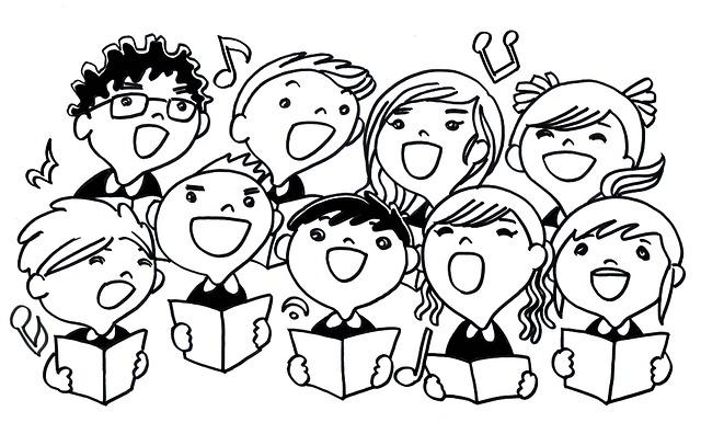Chants de Noël avec les étudiants